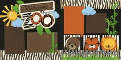 Welcome To The Zoo Page Kit