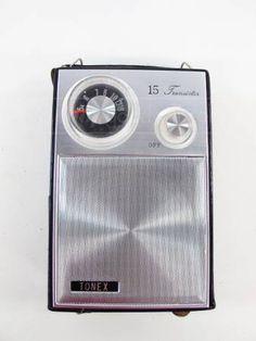 Vintage PortableTonex AM Transitor Radio