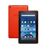 """#USAshopping #10: Fire Tablet, 7"""" Display, Wi-Fi, 8 GB - Includes Special Offers, Tangerine"""