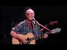 "Live at Wolftrap, August 8, 1993. Arlo and Pete and family - ""If I Had a Hammer"""