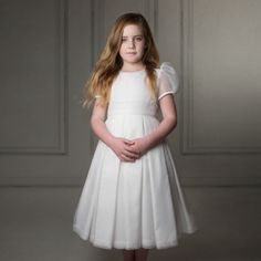 8a6ba4dd0c72 Exquisite hand made flower girl dresses, child bridesmaid dresses and first  communion dresses at Sue Hill. Beautiful special occasion dresses handmade  in ...