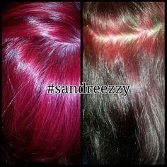 Color correction red hair #sandreezzy #hairninja #salon2324