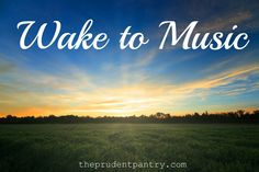 Get the day going with some great music.