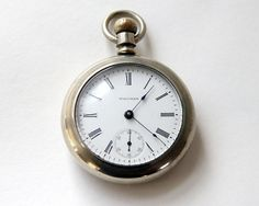 I've always wanted one as a gift :)-Waltham Pocket Watch Antique