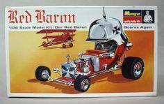 Tom Daniels' Red Barron Hot Rod - 1/24 Scale Monogram Model