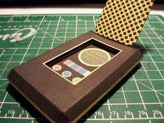 Star Trek Communicator Papercraft | Tektonten Papercraft