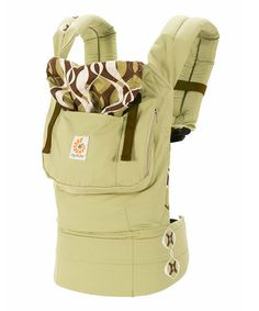 Pastel Green & Brown Bamboo Forest Original Carrier-almost 50% off today!!!