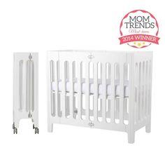Mini Crib Options for Small Spaces | Small nurseries, Mini crib and ...