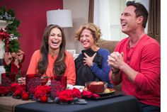 #HomeandFamilyTV @Moll Anderson shows how to create a #romantic #tablescape for #ValentinesDay!