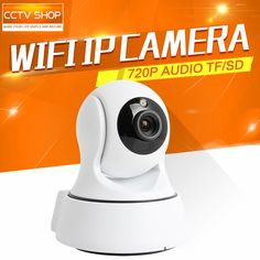 HD 720P 1.0MP WIFI PTZ IP Camera IR-Cut NightVision Two Way Audio CCTV Security Smart Cameras Wireless P2P Cloud View Indoor Use