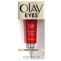 Olay Eyes Pro Retinol Eye Cream Treatment for Wrinkles, 0.5 Fl Oz