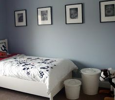 Jubilee - 6248. Sherwin Williams.  lovely shade of smokey gray blue.