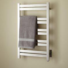"""20"""" Brenton Extra-Tall Hardwired Towel Warmer - Bathroom"""