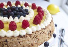 Nøtte- og sjokoladekake