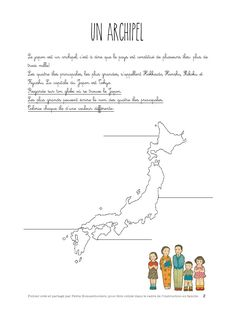 pdf - Page Tokyo, Continents, Cycle 3, Geology, Geography, Activities For Kids, Language, Japan, School