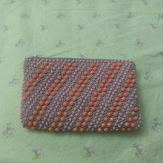 cute little vintage beaded change purse pink by SunDriedTomatoes, $5.00