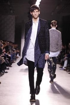 Dries Van Noten Fall Winter Menswear 2013 Paris