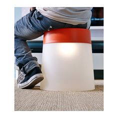 LED lamps come in many shapes and sizes and can be great architectural features in any room or even function as a stool. IKEA PS 2014 LED stool lamp from IKEA. Ikea Ps 2014, Car Bedroom, Lego Bedroom, Cabana Decor, Ikea Storage Solutions, Outdoor Screens, Ikea Usa, Mood Light, Design Your Life