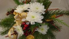 Adventsstrauß - Christmasdekoration selber machen. Floristik Video Anleitung. ❁ Deko Ideen mit Flora-Shop