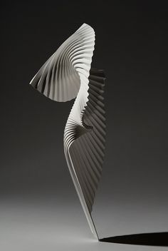 Paper Sculpture Untitled (Figure 1) by Richard Sweeney,