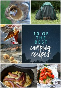 Camping these school holidays? Here are ten of the best camping recipes to include in your menu planning. via @cookerandlooker