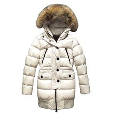 Moncler Femmes Special Limited Edition Veste In Blanc f2fc7b2bad7