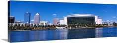 Buildings at the waterfront, St. Wall Art Prints, Framed Prints, Canvas Prints, Florida Sunshine, Dark Forest, Marina Bay Sands, New York Skyline, Tampa Florida, Primary Colors