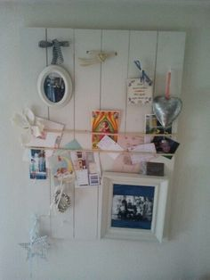 Memobord all the things i love. Handcraft.