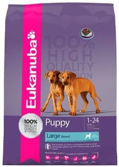 Eukanuba Dog Puppy and Junior Large Chicken Dry Food 9 kg