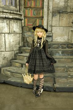 My outfit for AM's Tea Party! I dressed up in Angelic Pretty (of course >