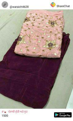 33 Ideas Skirt Outfits For Wedding Neckline For 2019 New Punjabi Suit, Punjabi Suits Party Wear, Punjabi Dress, Punjabi Suits Designer Boutique, Boutique Suits, Designer Punjabi Suits, Embroidery Suits Punjabi, Embroidery Suits Design, Salwar Designs
