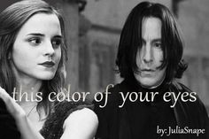 Snager harry Potter love | Fanfic / Fanfiction de Harry Potter - This Color of your eyes