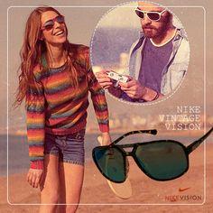 Óculos de sol Nike Vintage 90 #nike #fashion #sunglass #oculosdesol #oculos