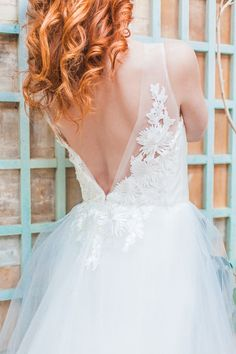 beautiful wedding dress detailing