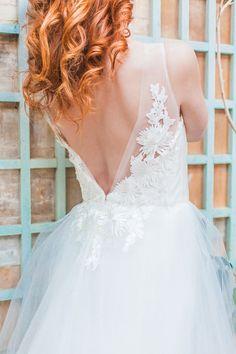 beautiful wedding dress detailing