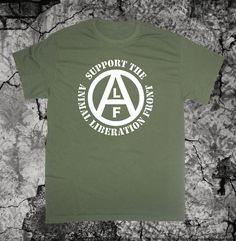 64d4e9490cb T SHIRT Peta Vegan Vegetarian Animal Liberation Front T-Shirt ALF Animal  Welfare Rights Punk Crass Subhumans Icons of Filth Aus-Rotten