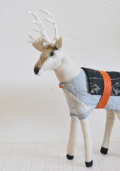 white dear by Lemmikkiapina and bought by creature comforts on flickr