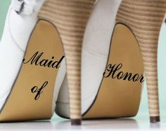 We think this is going to be a hit! Do you? New to our store, the Maid of Honor. Learn all about it. http://kreative-decals.myshopify.com/products/maid-of-honor?utm_campaign=social_autopilot&utm_source=pin&utm_medium=pin
