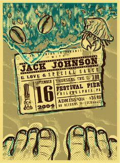 Todd Slater Jack Johnson Poster