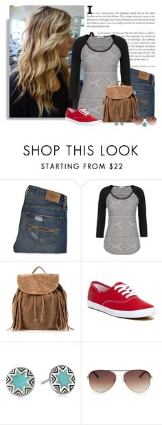 """""""Disneyland Trip"""" by chelseagirlfashion ❤ liked on Polyvore featuring GUESS, Abercrombie & Fitch, maurices, NLY Accessories, Keds, House of Harlow 1960, MANGO, women's clothing, women and female"""