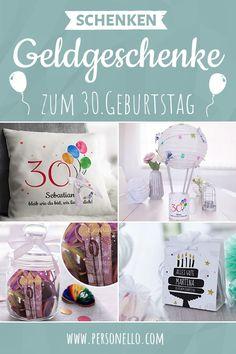 Geld Zum Geburtstag Schenken Das Ist Mit Sen Geschenkideen 30 Keine