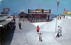 REDONDO BEACH PIER 1950s by Ron Felsing, via Flickr