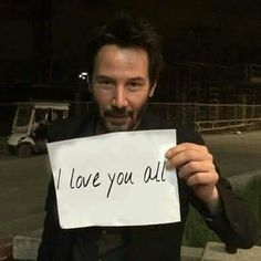WHY DO WE LOVE KEANU? This.  (chicfoo) keanu