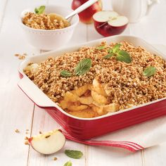 Croustade aux pommes allégée - Les recettes de Caty My Recipes, Favorite Recipes, Healthy Recipes, 200 Calories, Coconut Cream, Fried Rice, Macaroni And Cheese, Biscuits, Health Fitness