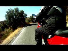 Onboard ride along a tour through California