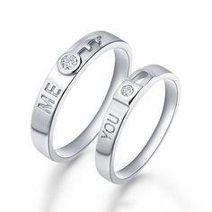 2016 romantique cadeaux pour amant Pink /& White Topaz gemstone silver rings Taille 6-11