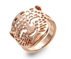 Rose Gold Leopard Ring- Style Me Chic