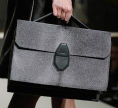 Alexander Wang Fall 2013: Refined Handbags and Fur Boxing Gloves