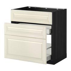 METOD / MAXIMERA Mobile lavello/3frontali/2cassetti IKEA L