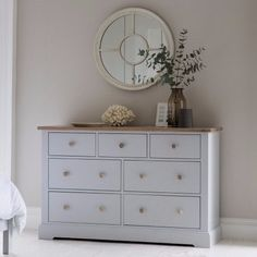 Hudson Living Marlow Chest of Drawer - Large - Modish Living. Nordic Design Bedroom Storage. Beach look Chest.